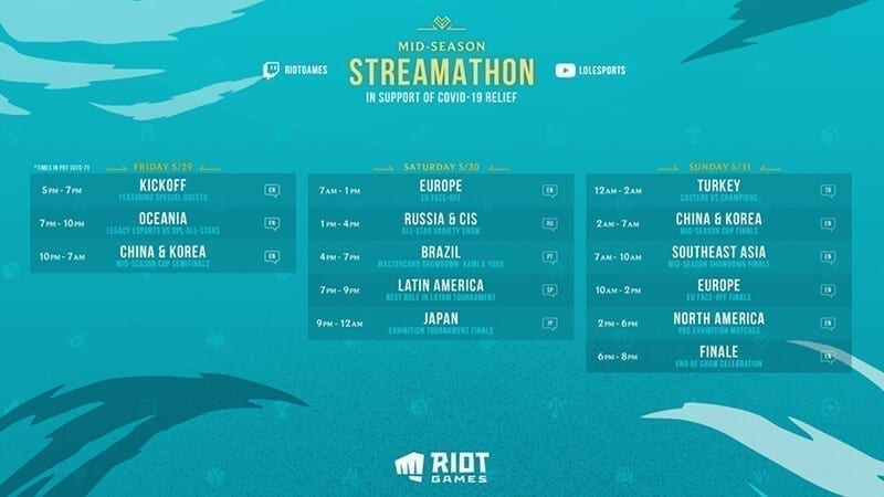 Mid Season Streamathon